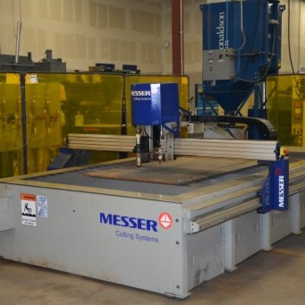 Messer Edgemax with Hypertherm HPR 400XD